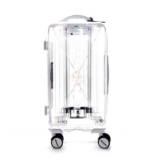 Crystal White Luggage Sprayground