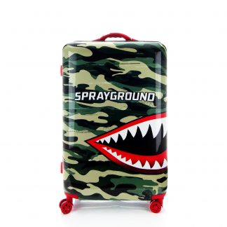 "Jaws Camouflage Luggage 28"" Sprayground"