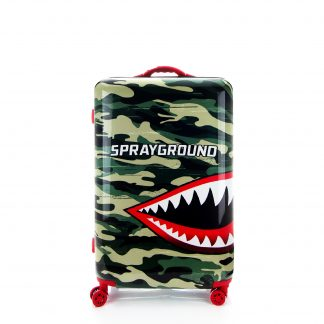 "Jaws Camouflage Luggage 24"" Sprayground"