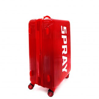 Maleta Striped Red Luggage 24""