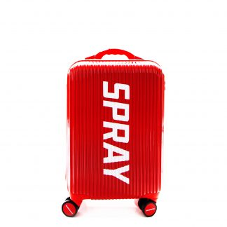 Maleta Striped Red Luggage 20""