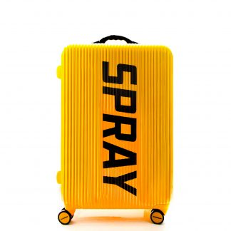 Maleta Striped Yellow Luggage 28""