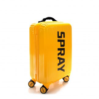 Maleta Striped Yellow Luggage 20""