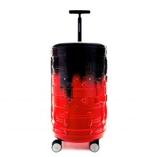 Maleta Cylinder Red Luggage 24""